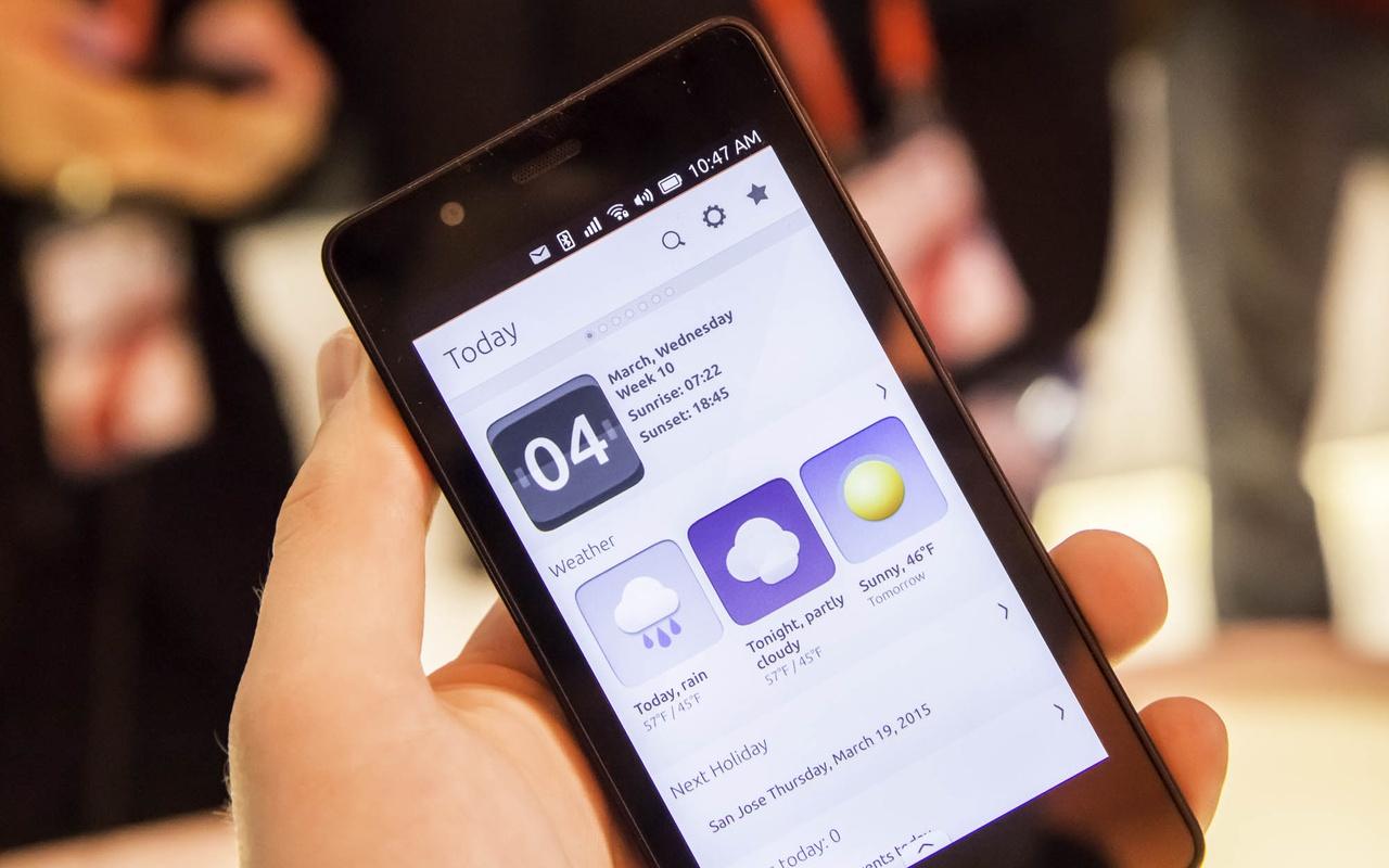 Ubuntu voor smartphones