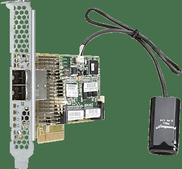 HP Smart Array P431/2GB FBWC 6Gb 2-ports Ext SAS Controller