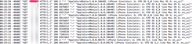 Apple iOS 6 databug