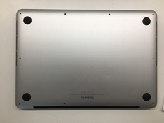 SSD MacBookPro12,1 long Sintech adapter closed top