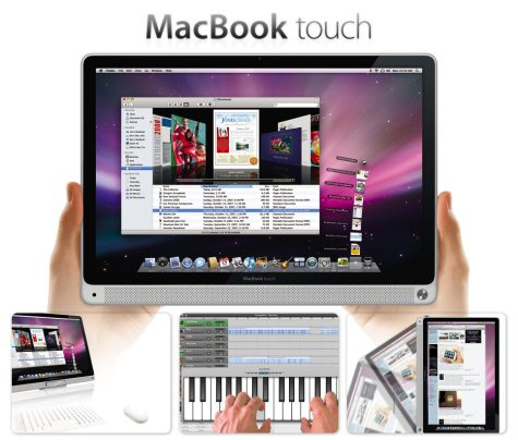 MacBook Touch fake ad