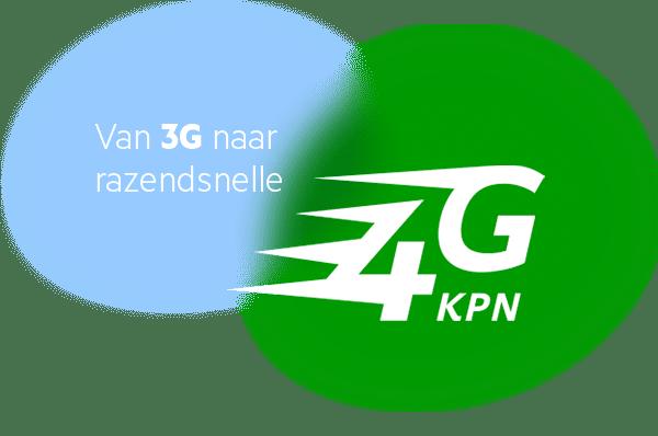 KPN 3G naar 4G