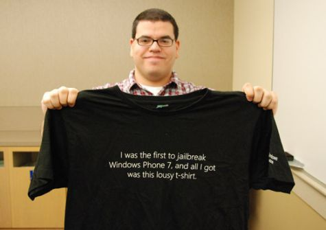 Chevron-ontwikkelaar kreeg t-shirt van Microsoft