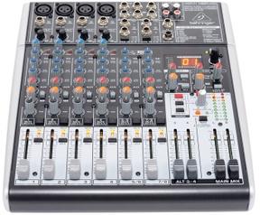 Behringer XENYX 1204USB PA en studio mixer