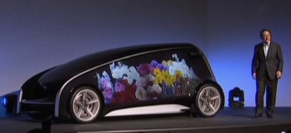 Toyota Fun-Vii conceptauto met display-carrosserie