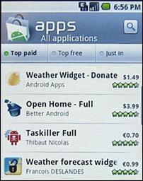 Nieuwe Android Market