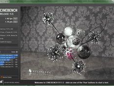 Cinebench benchmark