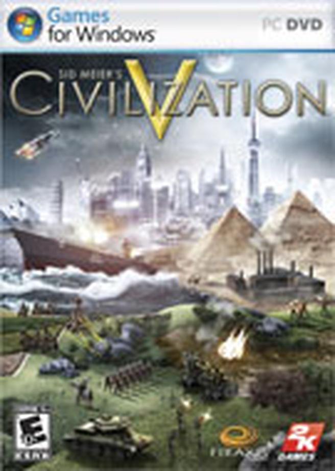 Civilization V box