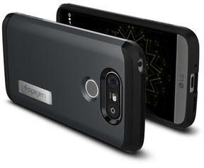 Spigen Tough Armor LG G5 Case - A18CS20138 - Metal Slate