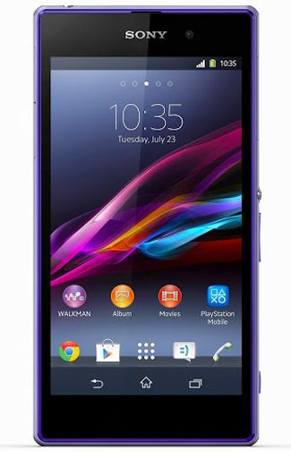 Sony Xperia Z1 Paars