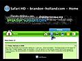 Safari HD Pagina