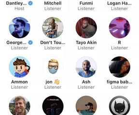 Twitter Spaces, december 2020