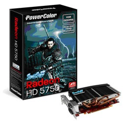 Powercolor introduceert HD 5750 met passieve koeling
