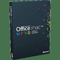Microsoft Office Mac Thuisgebruik & Zelfstandigen 2011