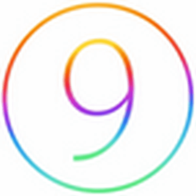 Apple iOS 9 logo (75 pix)