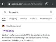 Google Continous Search Navigation