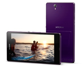 Sony Xperia Z Paars