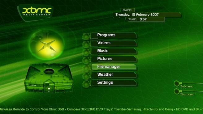 XBMC in 2007