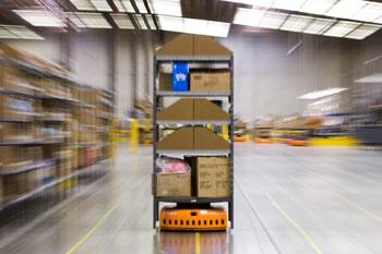Magazijnrobot van Kiva Systems