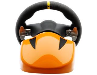fanatec porsche 911 gt3 rs v2 wheel eu oranje. Black Bedroom Furniture Sets. Home Design Ideas