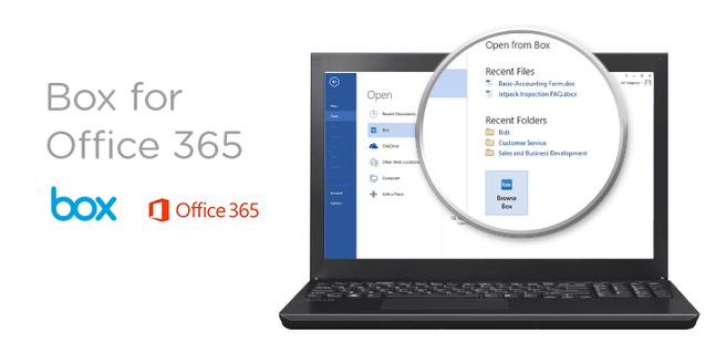 Office 365 met Box