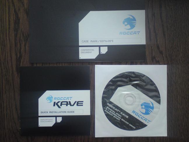 Roccat Kave - 4 - Doos inhoud 2