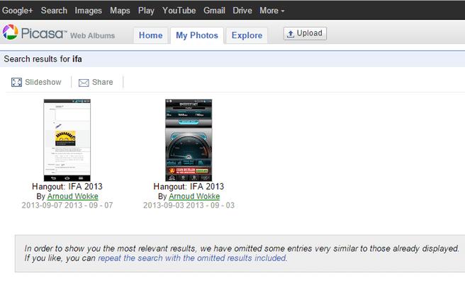Picasa Web Albums (juni 2015)