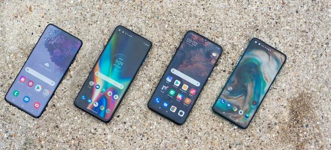 5g-telefoons voor 5g-netwerktesten