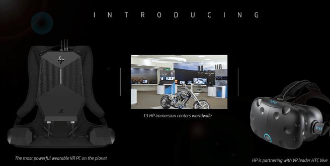 HP VR Z-lijn
