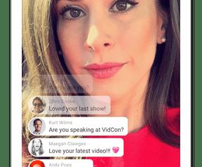 YouTube livestreaming vanuit mobiele app