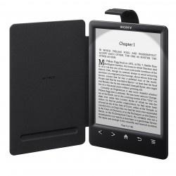 """Sony PRS-T3 + Cover met lampje (Zwart, 6"""")"""