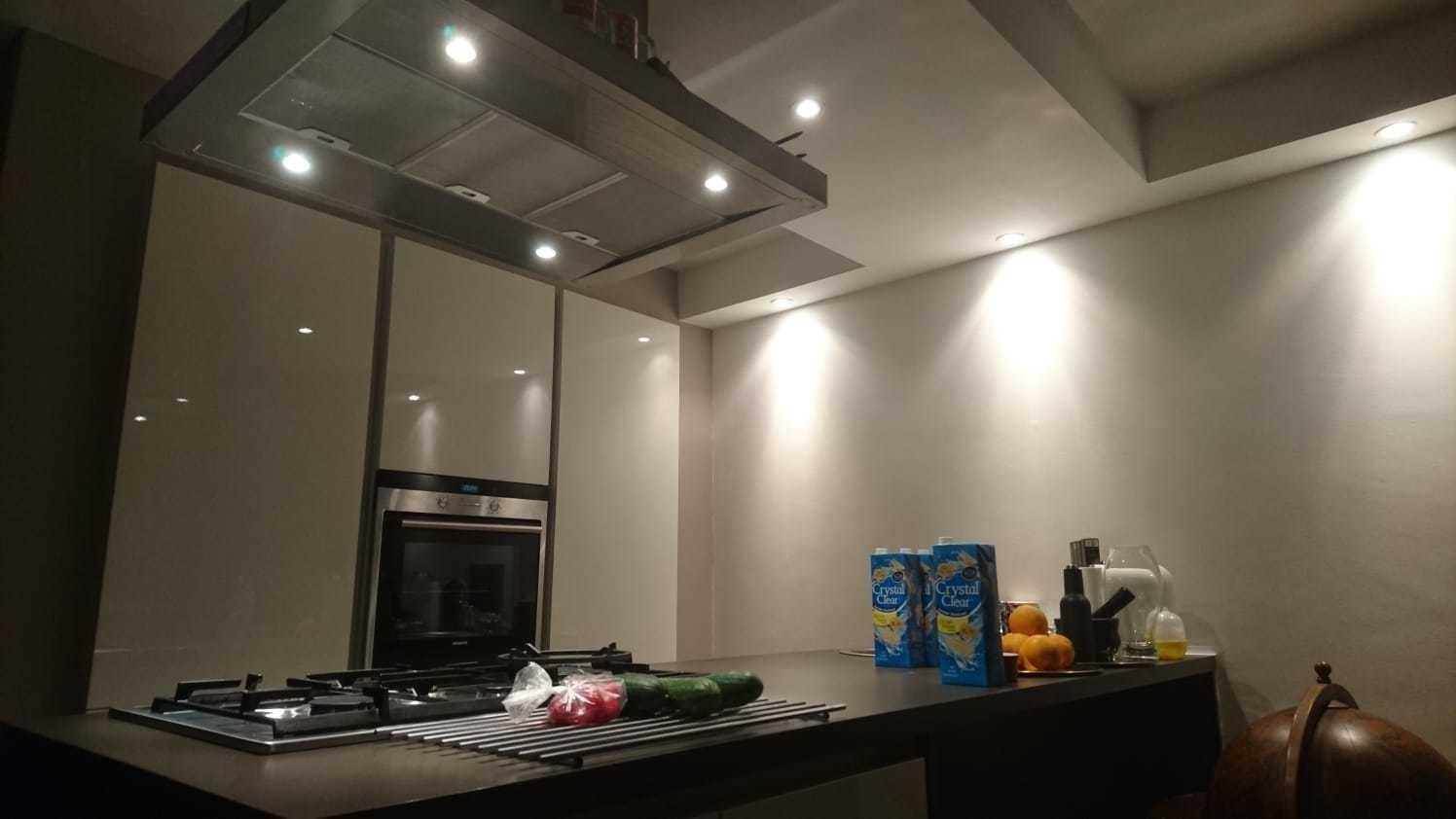 Aantal spotjes in woonkamer met open keuken - Wonen & Verbouwen - GoT