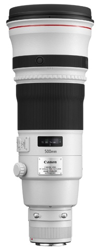 Canon EF 500mm F/4.0 L USM iS II