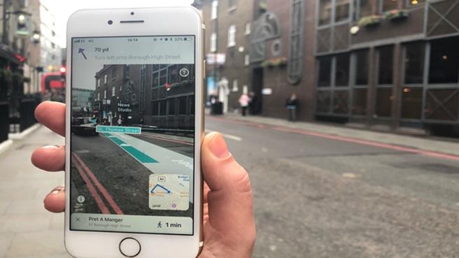 Blippar AR City app