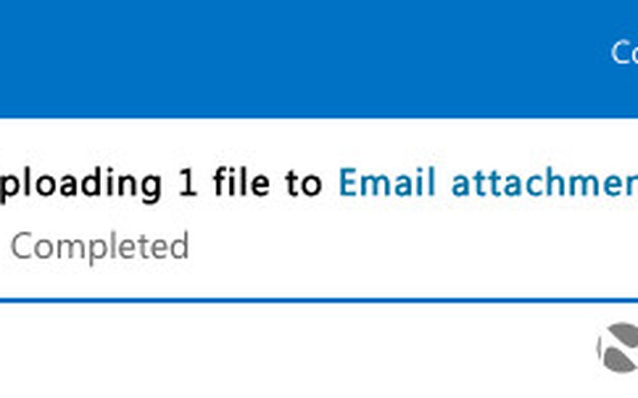 'Microsoft test direct opslaan van bijlagen met OneDrive ...