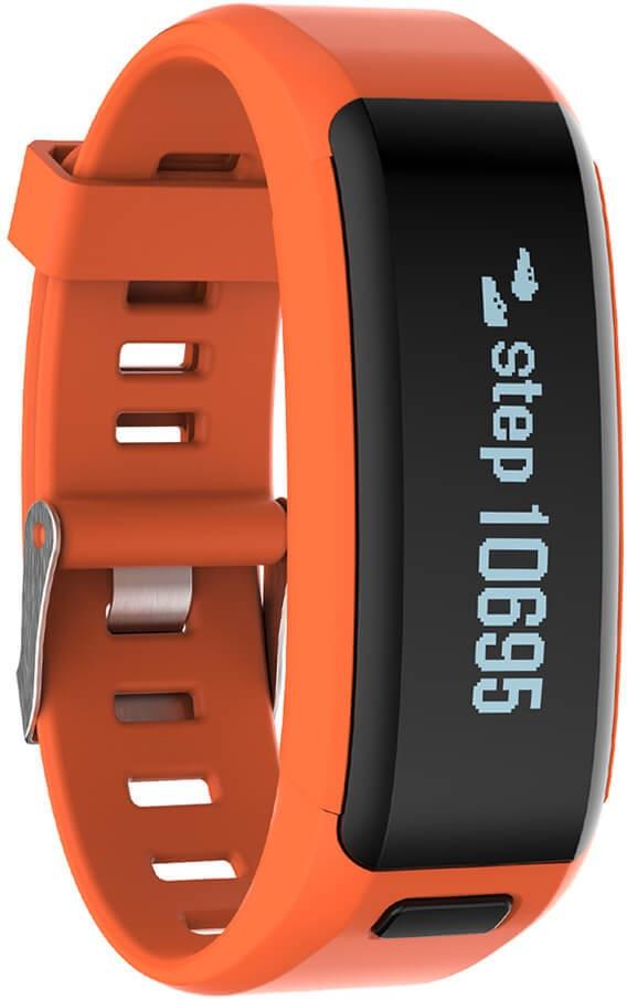 No.1 Smartband F1 Zwart (Oranje)