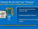 Intel roadmap-update maart 2014