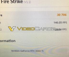 3DMark RTX 3060 Ti via VideoCardz