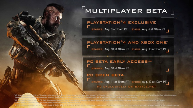 Black Ops 4 b�ta