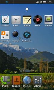 Tizen op Samsung I9500