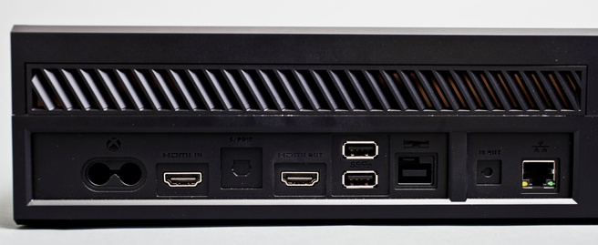 Achterkant Xbox One