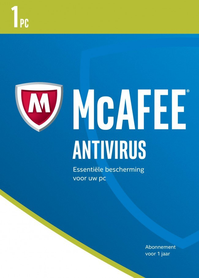 McAfee Antivirus 2017 NL (1PC-1Y) (download versie) (MAB17D001RKA)