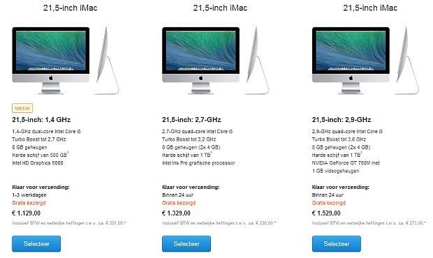 iMac Apple juni 2014