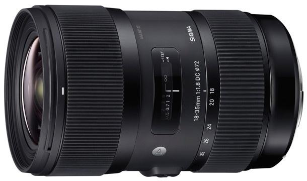 Sigma 18-35mm F1.8 DC HSM Art 610px