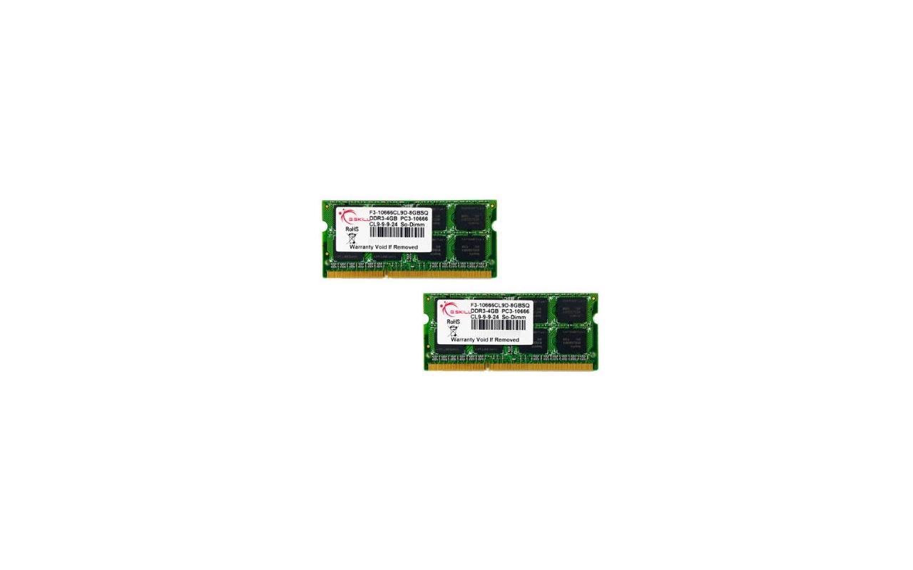 G.Skill F3-10666CL9D-8GBSQ