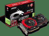 Goedkoopste MSI GeForce GTX 970 GAMING 4G