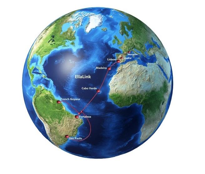 EU datakabel Zuid-Amerika