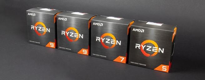 Ryzen 5000 lineup