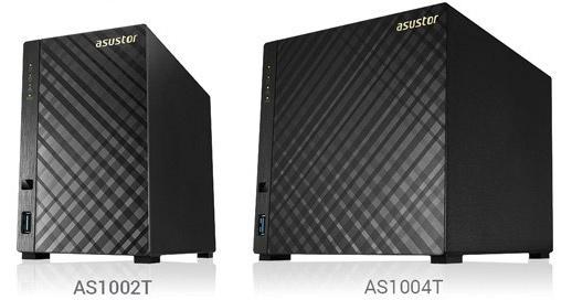 Asustor AS1002 AS1004