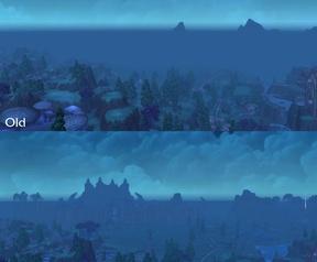 World of Warcraft draw distance